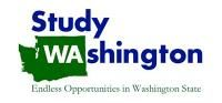 Study Washington logo, which has a green outline of the state under WA and the words Study Washington - Endless Opportunities in Washington State
